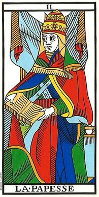 carta della papessa