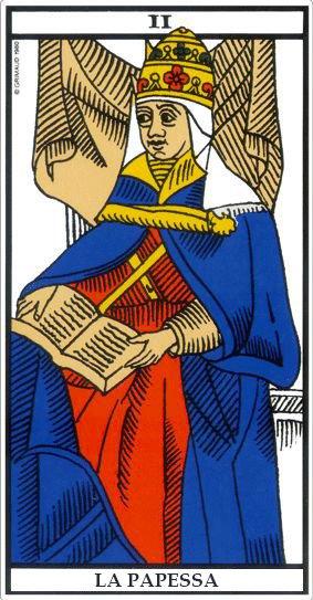 Leggere i Tarocchi - La Papessa
