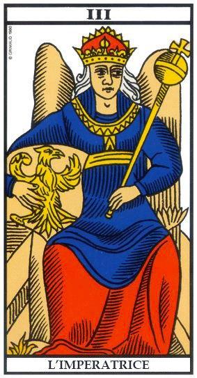 Leggere i Tarocchi - L'imperatrice