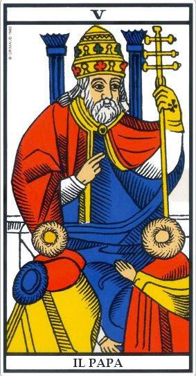 Leggere i Tarocchi - Il Papa