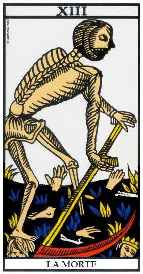 Leggere i Tarocchi - La Morte